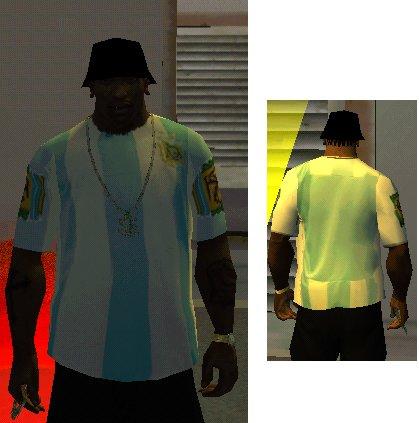 Gta Camiseta de argentina