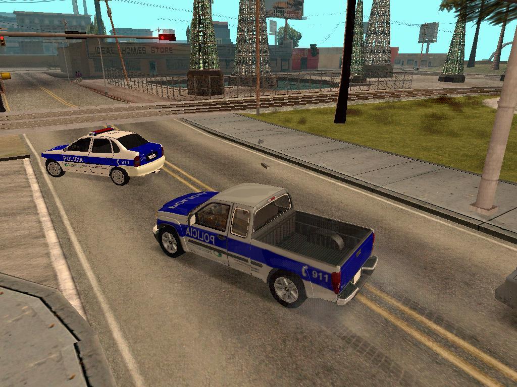 Camioneta 4x4 Policia Bonaerense